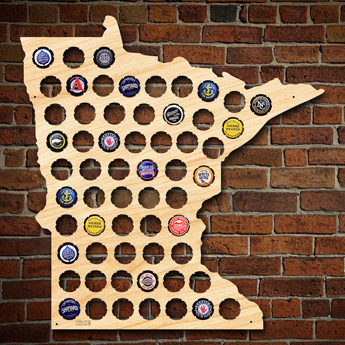 Minnesota-Beer-Cap-Map