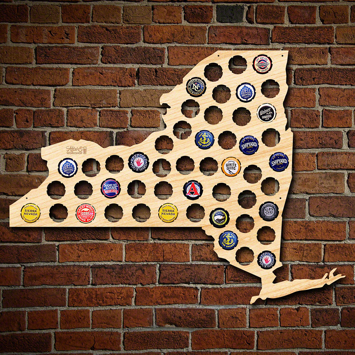 New-York-Beer-Cap-Map