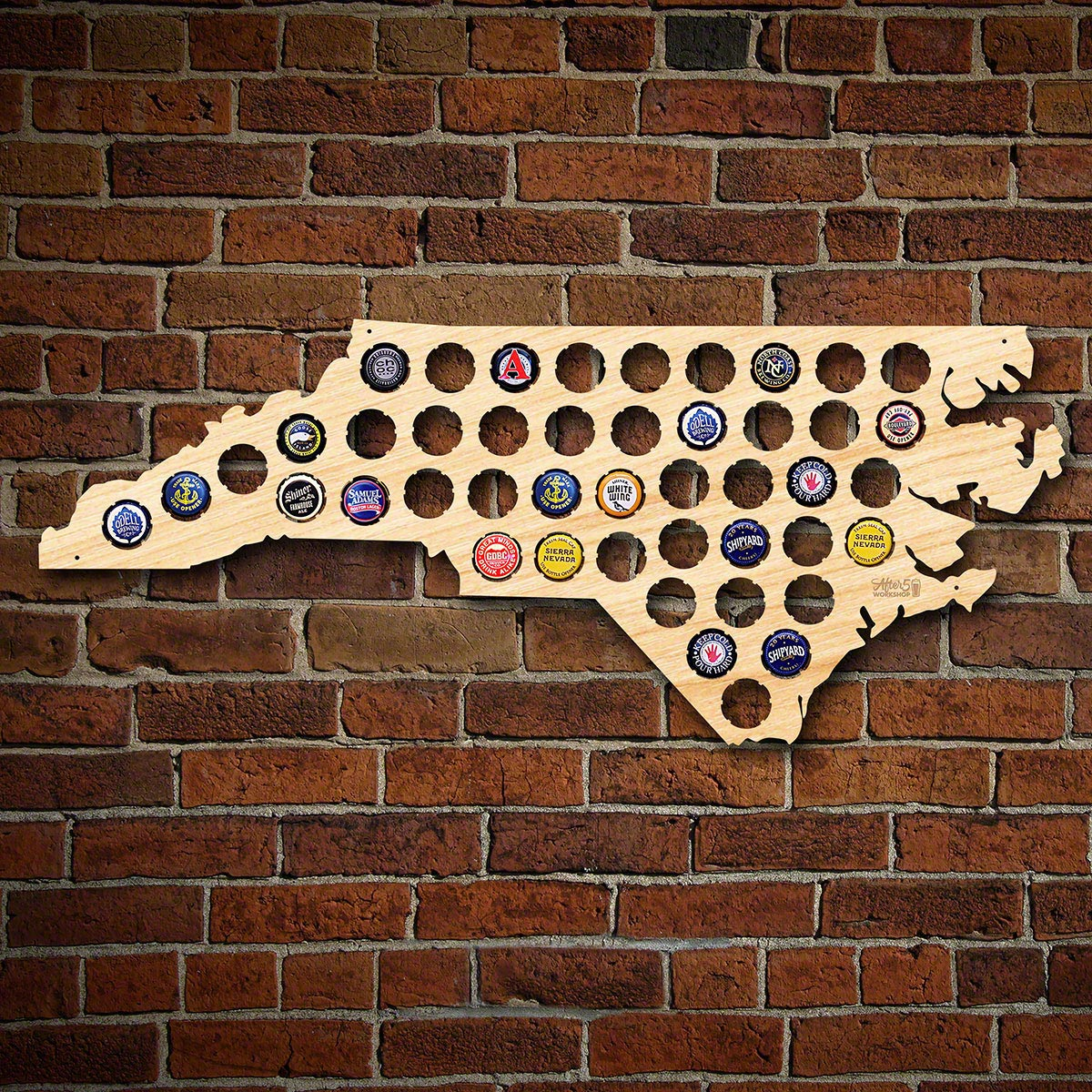 North-Carolina-Beer-Cap-Map