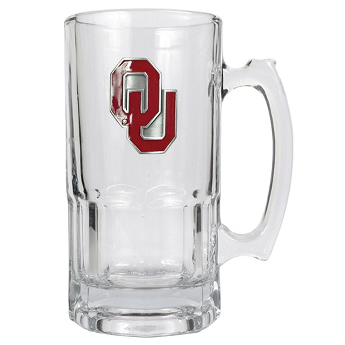 Oklahoma Sooners Large Beer Mug (Engravable)