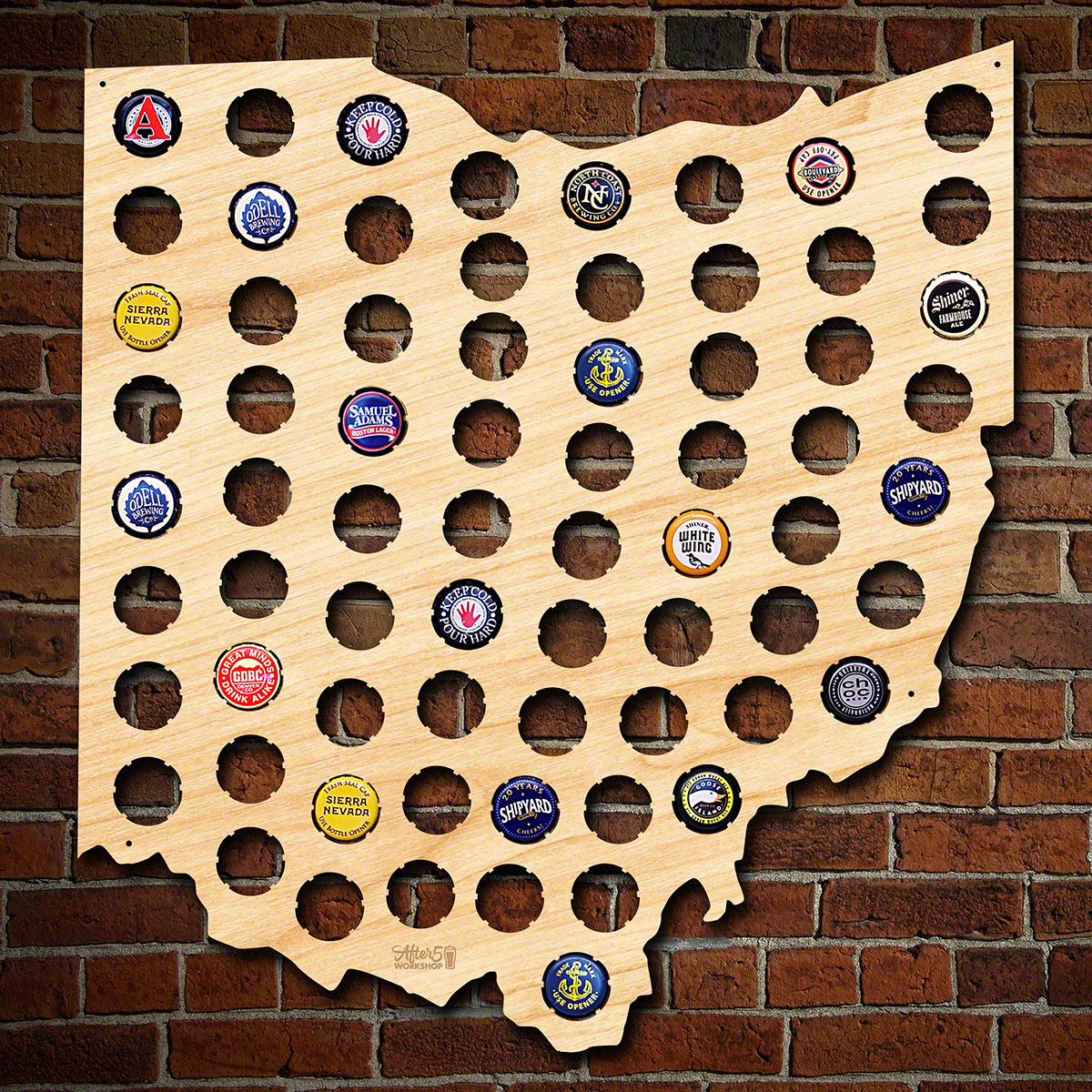Ohio-Beer-Cap-Map