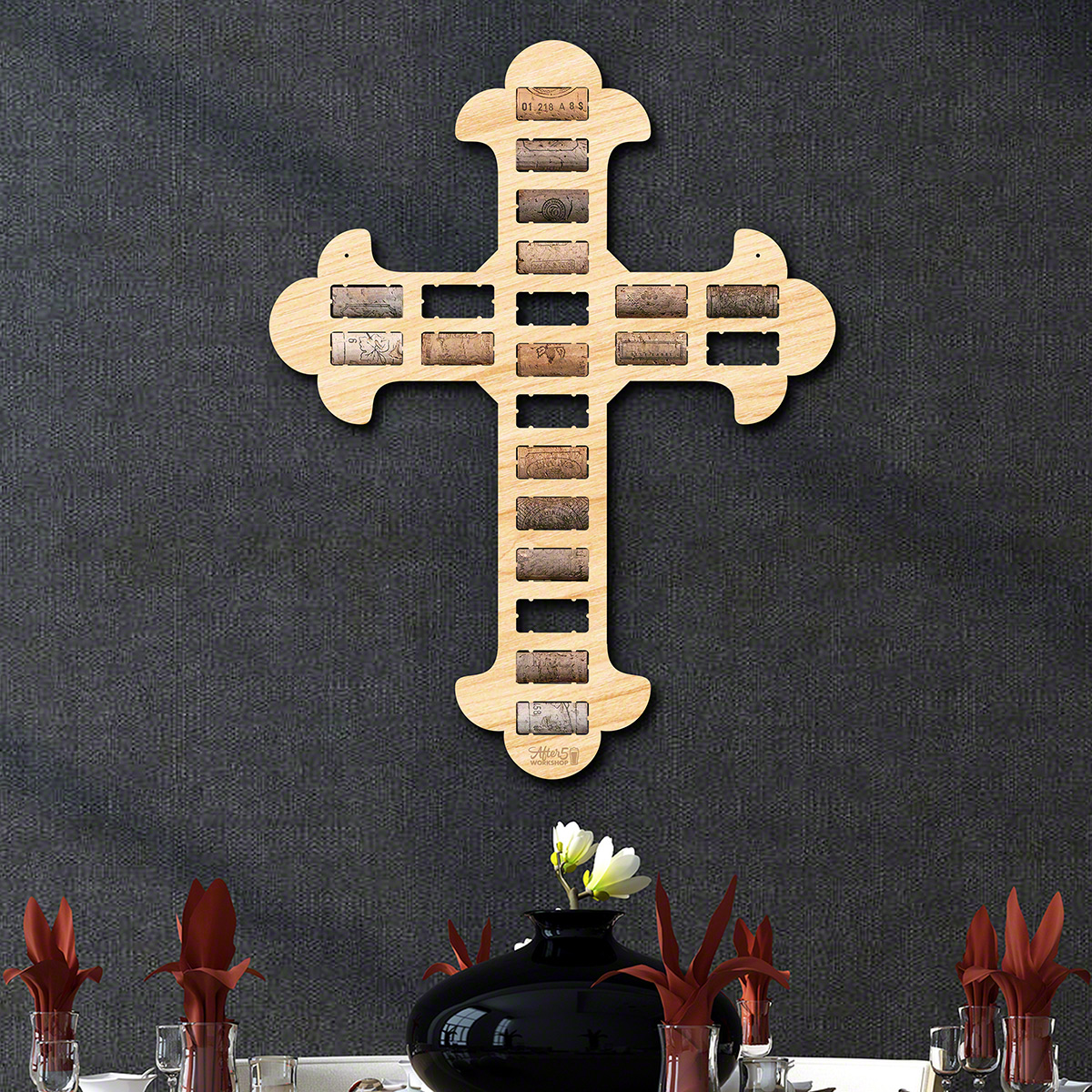 Cathedral-Cross-Wine-Cork-Holder