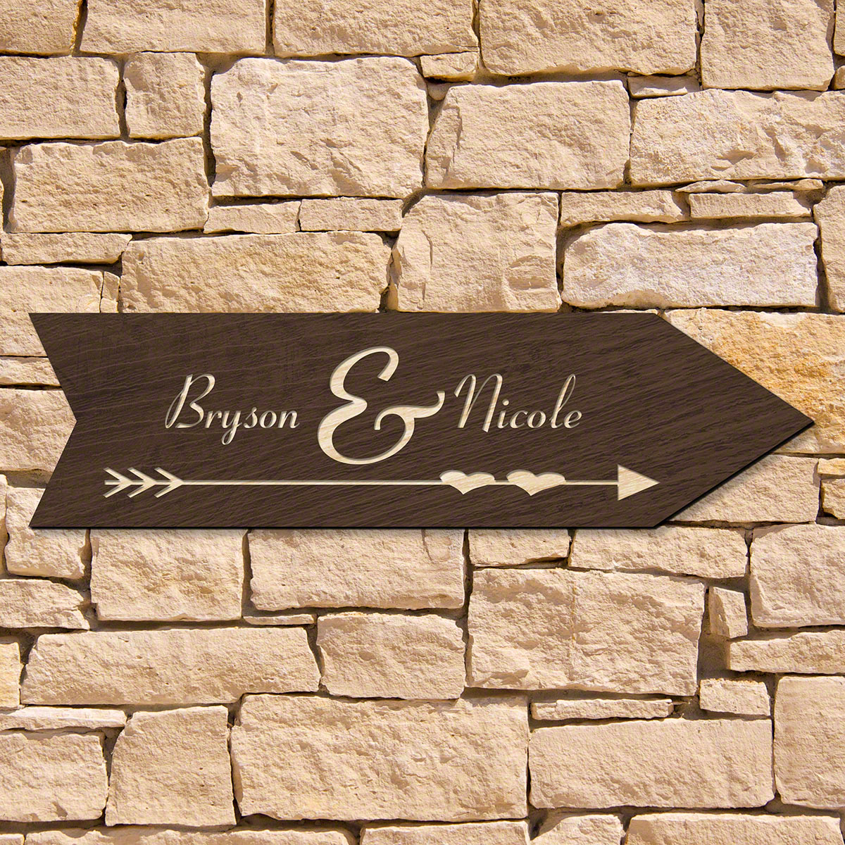 Direction-of-Love-Personalized-Wood-Sign-for-Home-(Signature-Series)