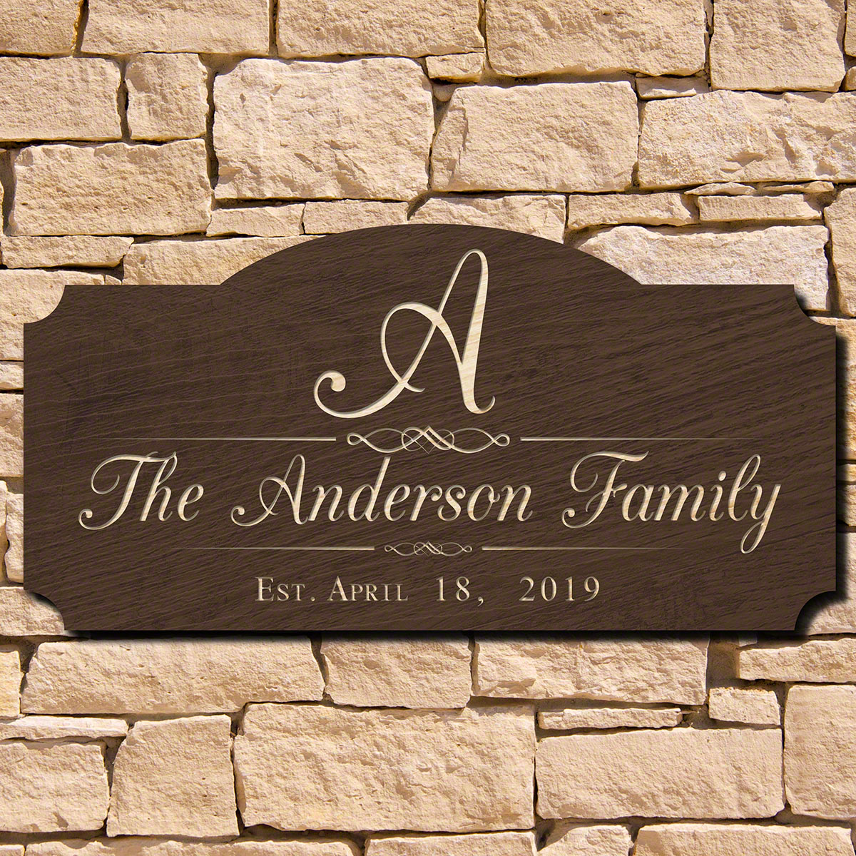 Mulheren-Personalized-Family-Name-Sign-(Signature-Series)