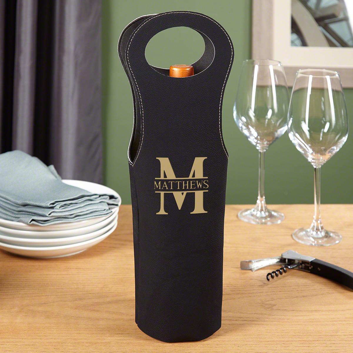 Oakmont Custom Wine Bag