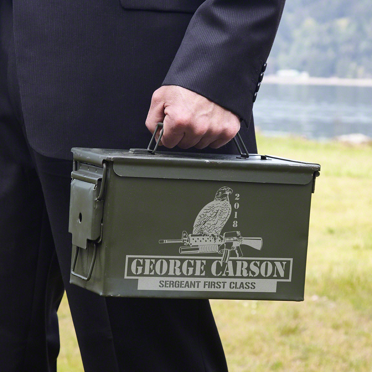 Eagle & Chopper Custom Ammo Can Box