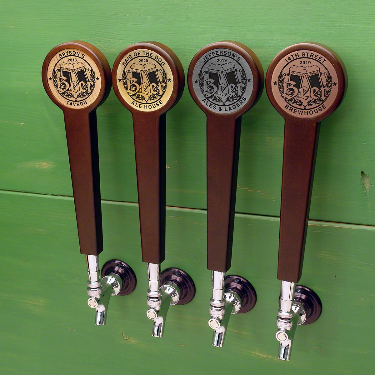 Bierhaus Custom Beer Tap Handle 4 Color Options