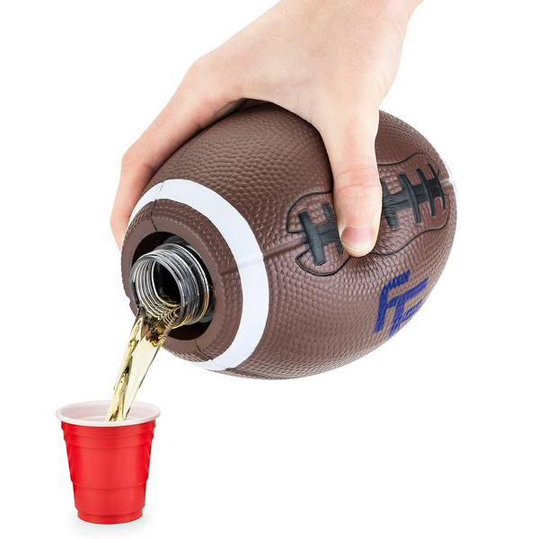 BoozeBlitz Football Hidden Alcohol Flask