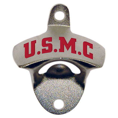 US Marine Corps Wall Mounted Bottle Opener
