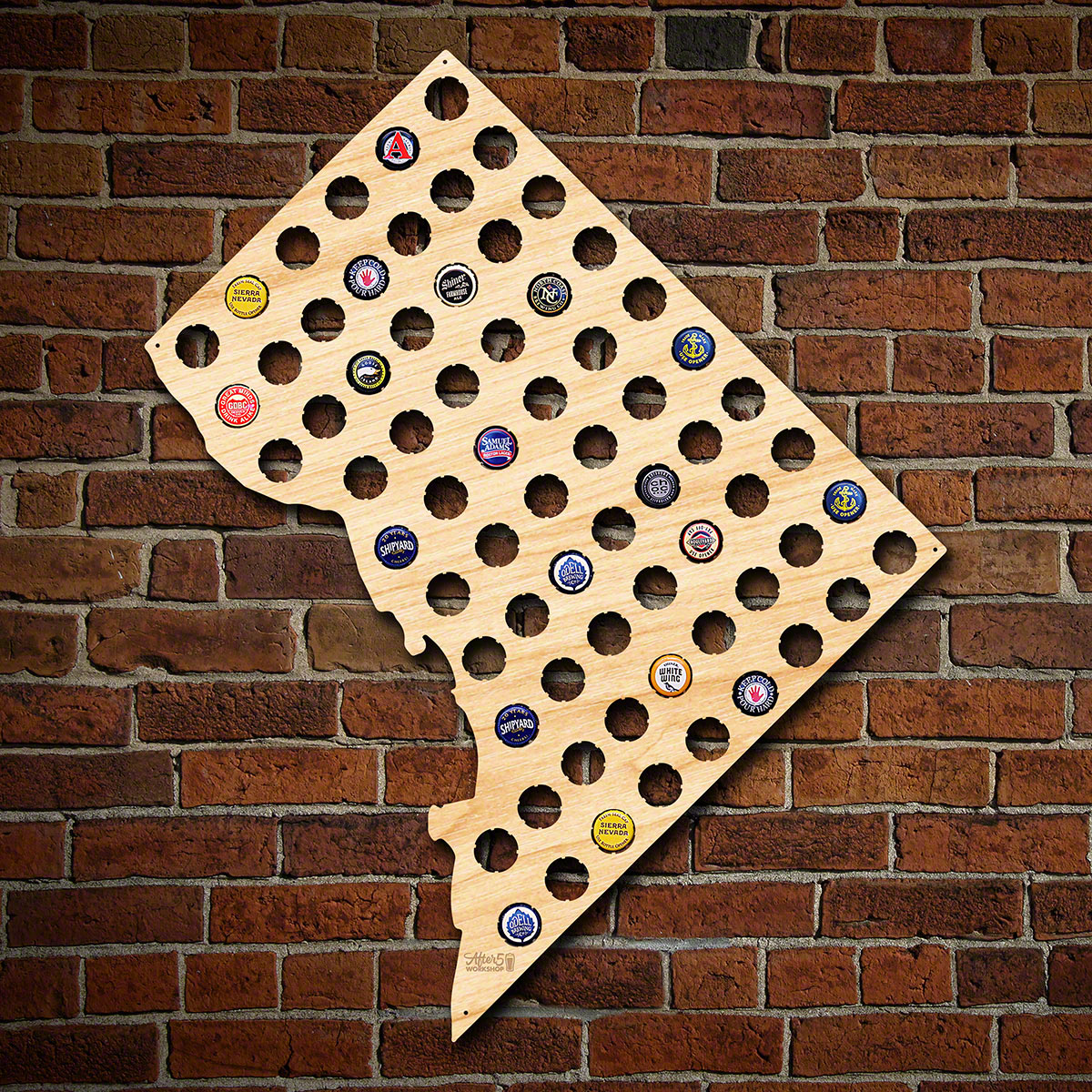 Washington-DC-Beer-Cap-Map