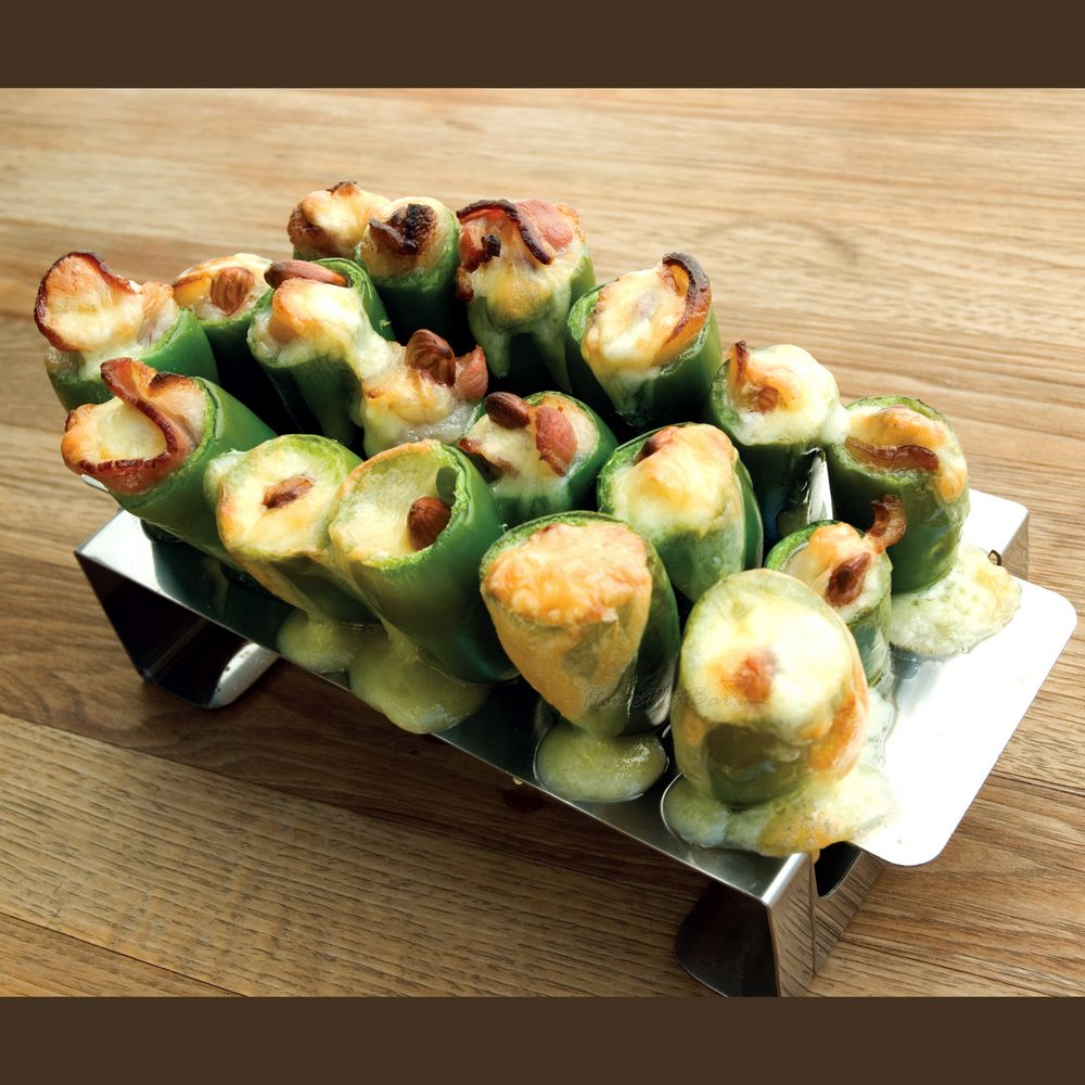 Jalapeno Poppers Grill Roaster PLUS Corer