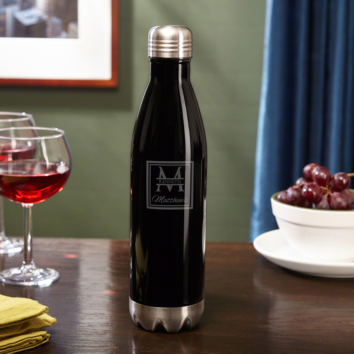 Oakhill Stainless Steel Custom Wine Canteen