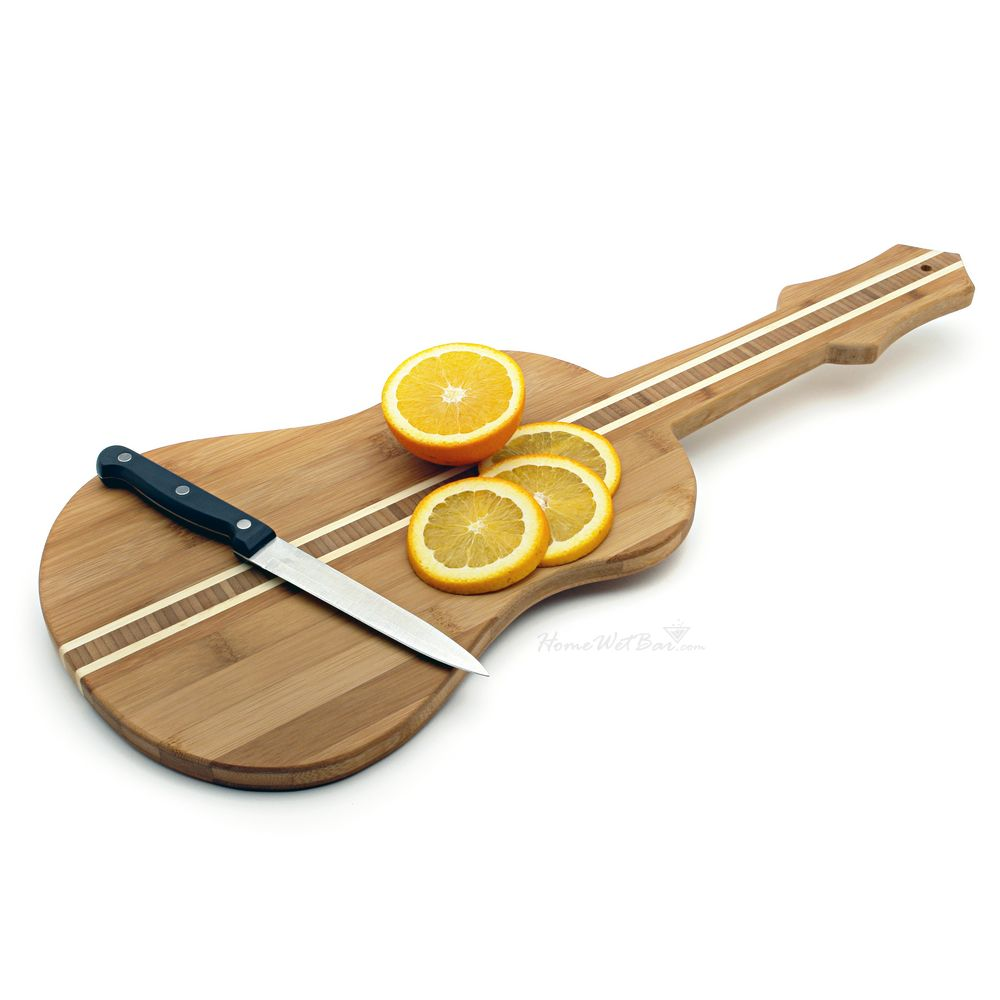 Guitar-Shaped-Bamboo-Cutting-Board