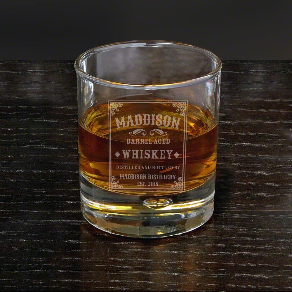 Stillhouse Personalized Bryne Whiskey Glass