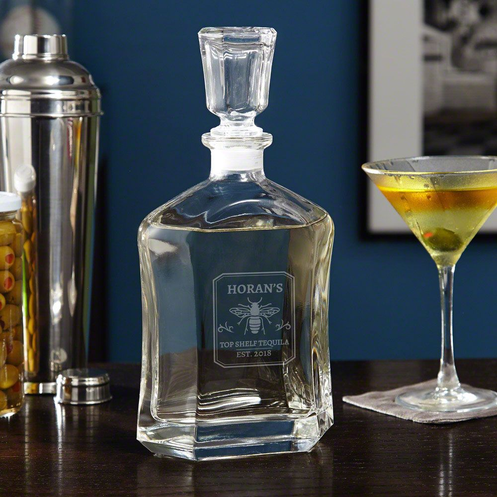 Tequila Master Custom Liquor Decanter