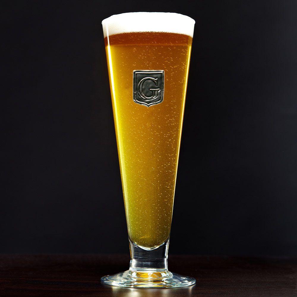Regal Crested Grand Pilsner Glass