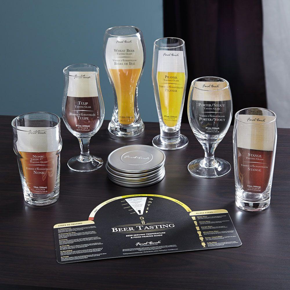 Aspiring Connoisseur Beer Tasting Set, 13 Pieces