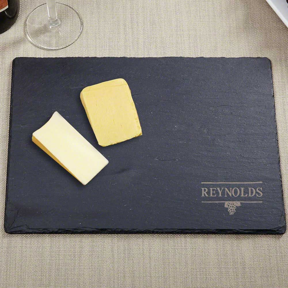 Perfect Pairing Engraved Slate Cutting Board