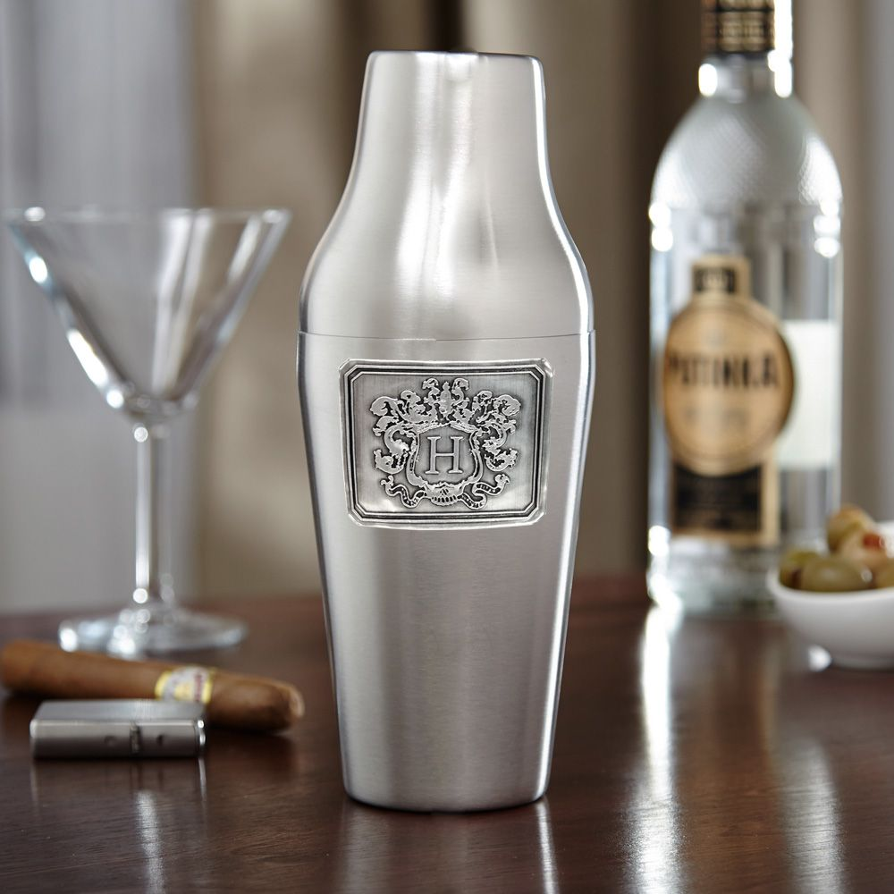 Royal Crested Paris Nights Cocktail Shaker