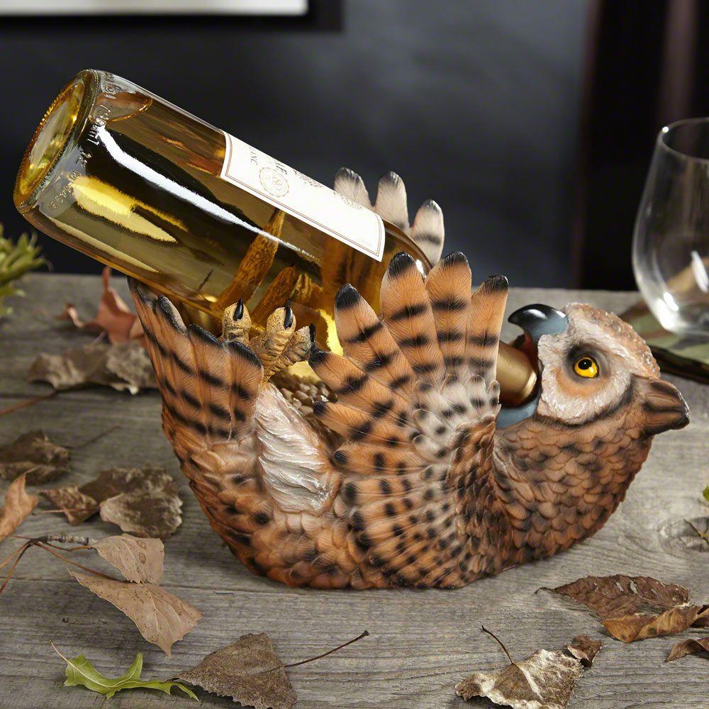 Drunken Owl Wine Bottle Holder
