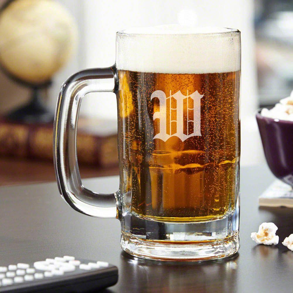 Benton Personalized Beer Mug