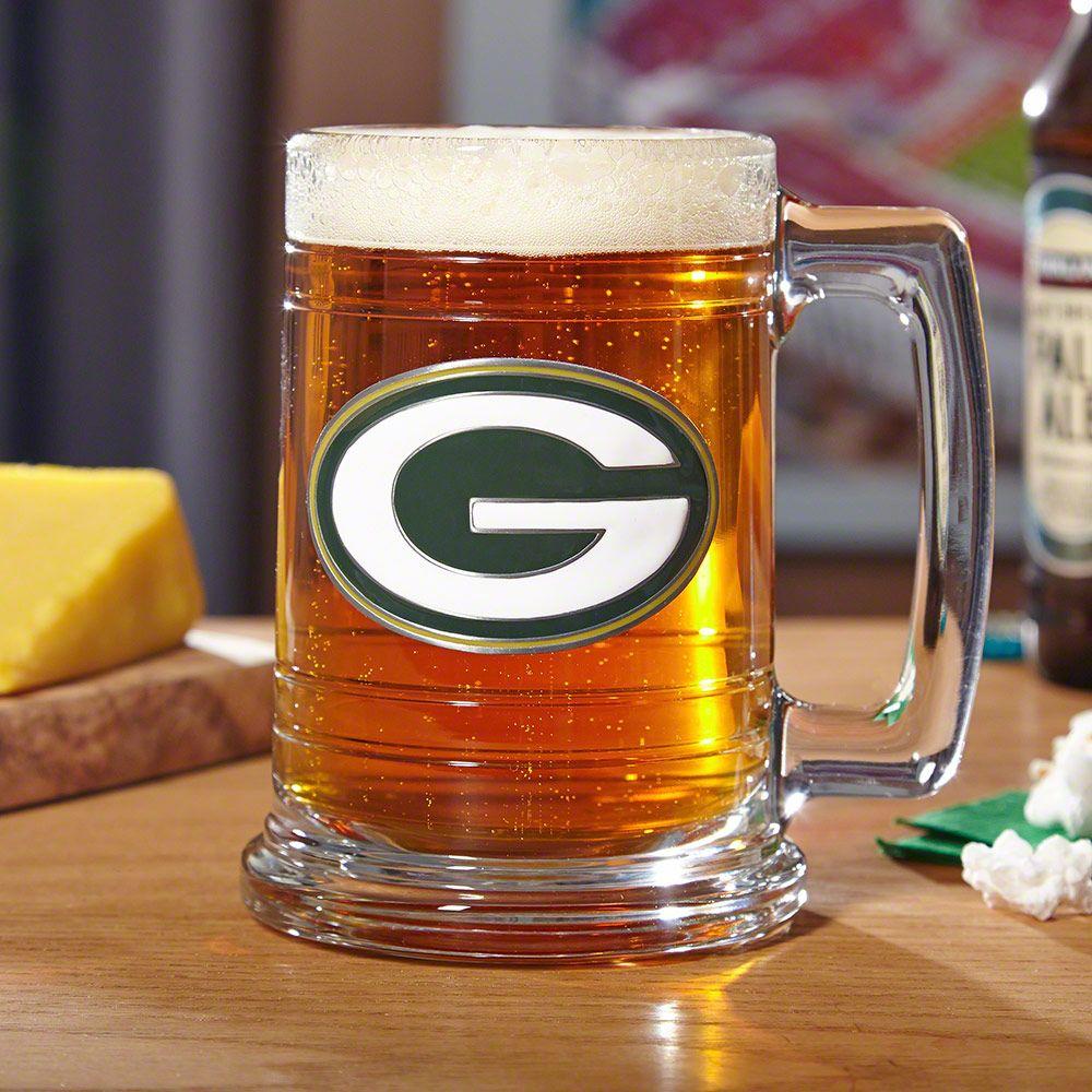 Green Bay Packers Beer Mug (Engravable)
