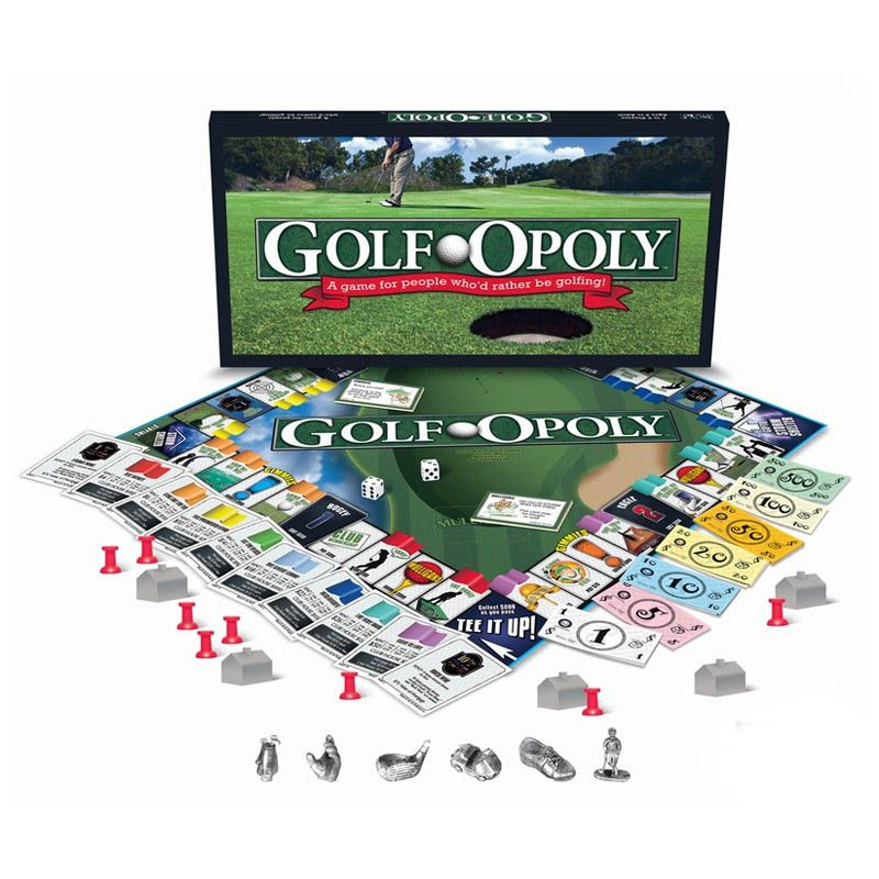 Golf-opoly Board Game