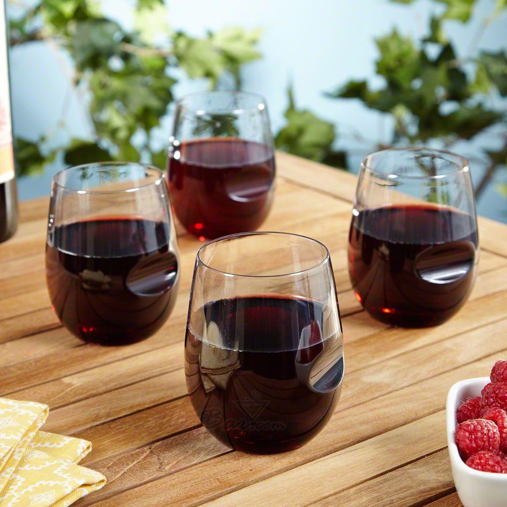Roadies Stemless Travel Wine Glasses