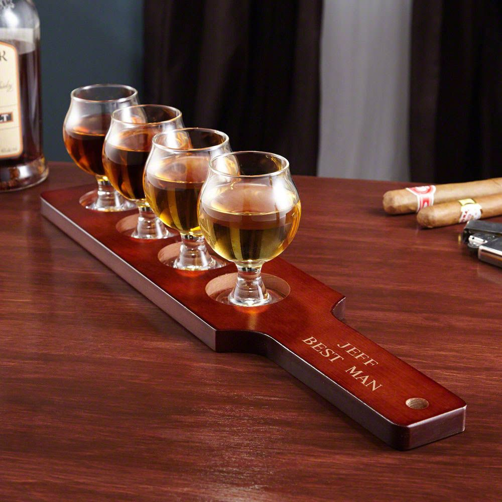 Union Street Personalized Whiskey Tasting Set