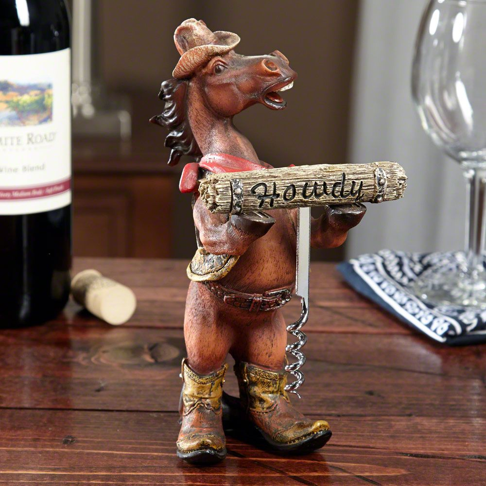 Howdy Horse Corkscrew Gift Set