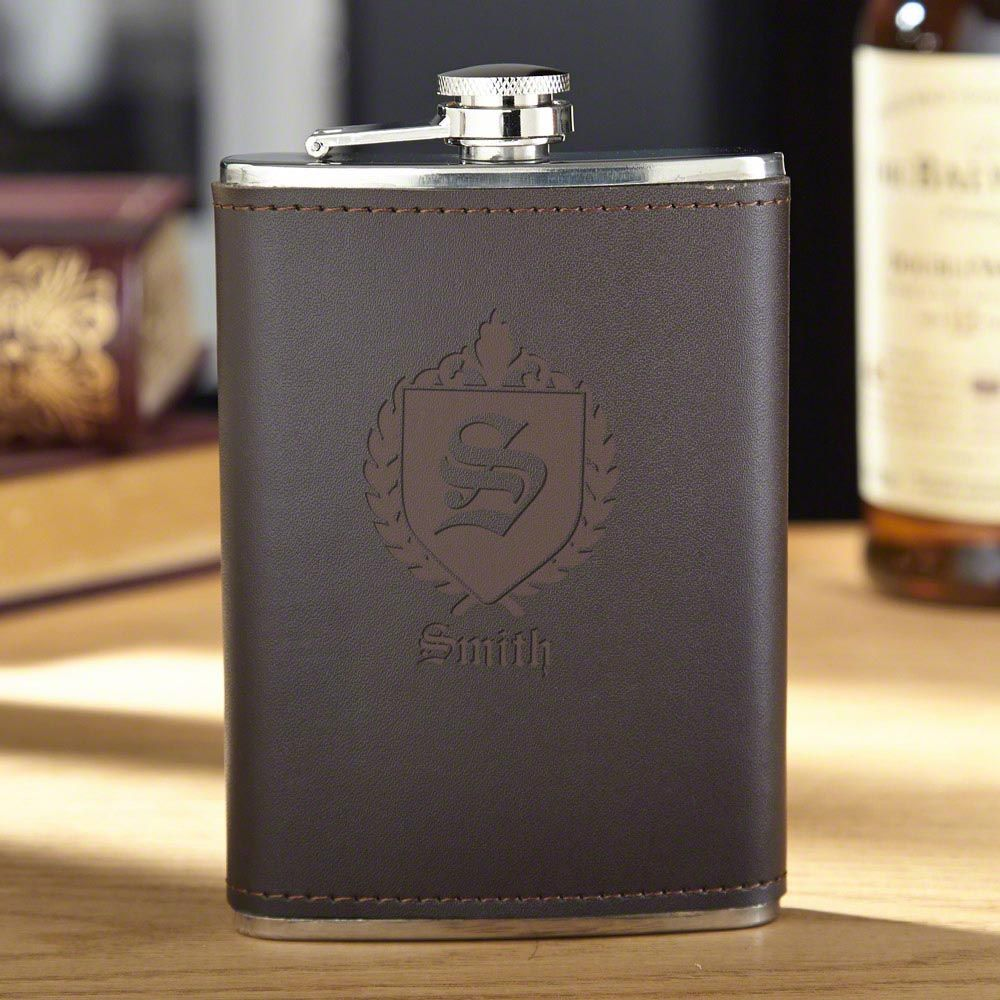 Oxford Personalized Hip Flask