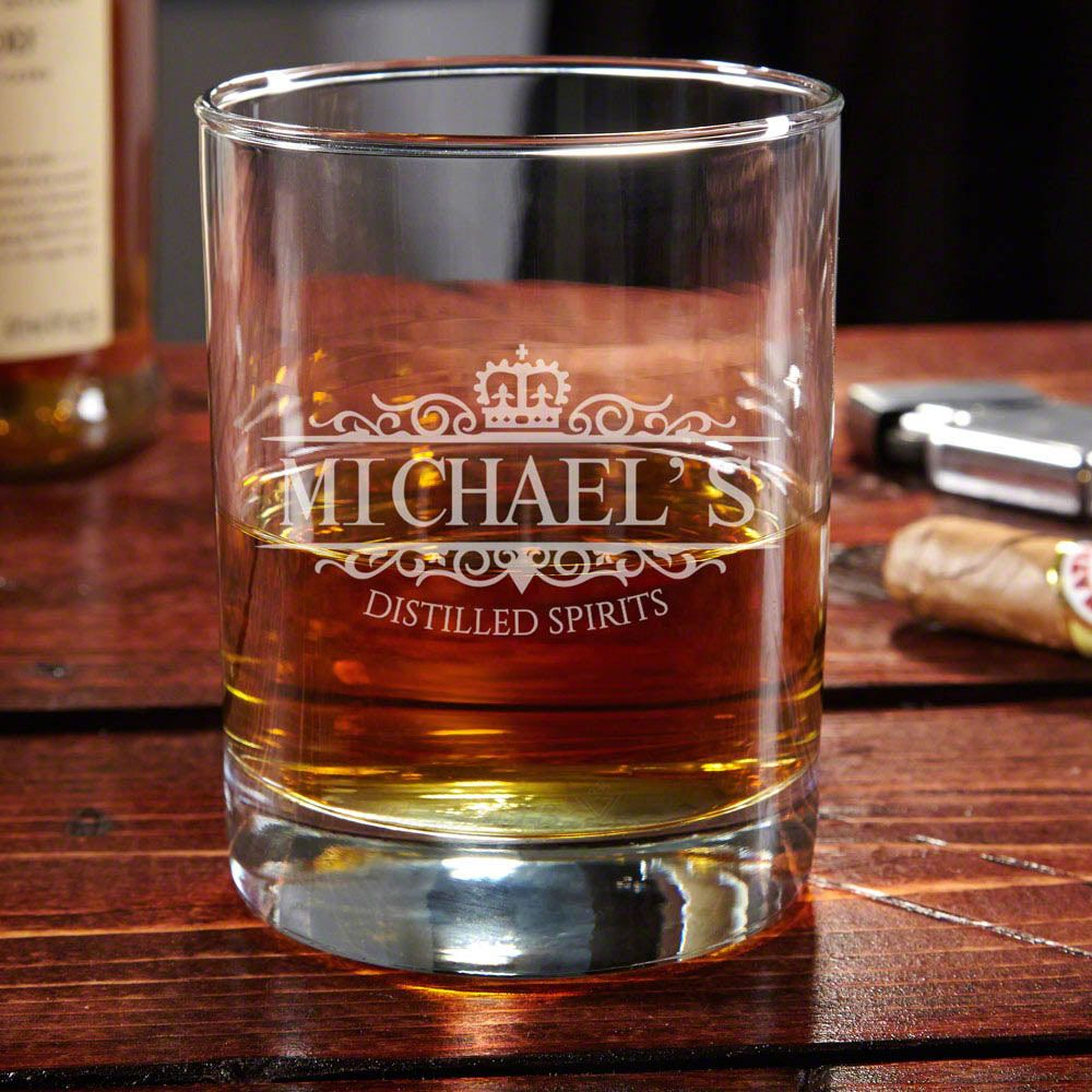 Eastham Kensington Personalized Whiskey Glass