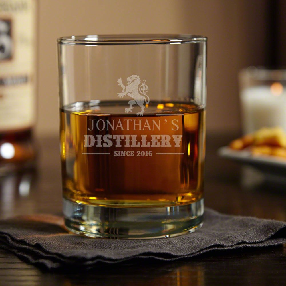 Royal Standard Personalized Whiskey Glass