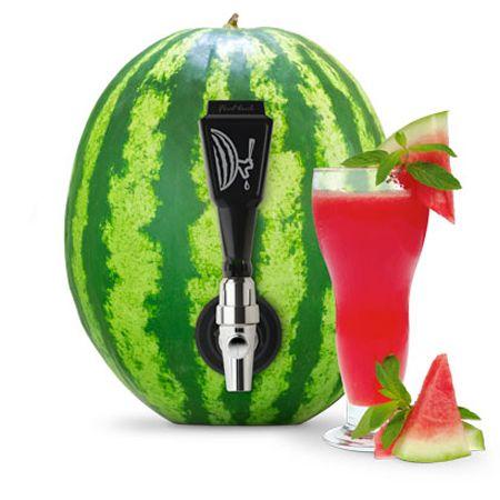 Watermelon To Glass Keg Tap