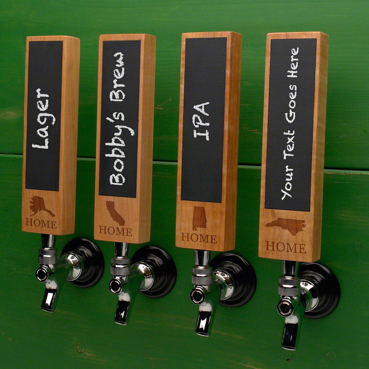 Home State Chalkboard Tap Handle