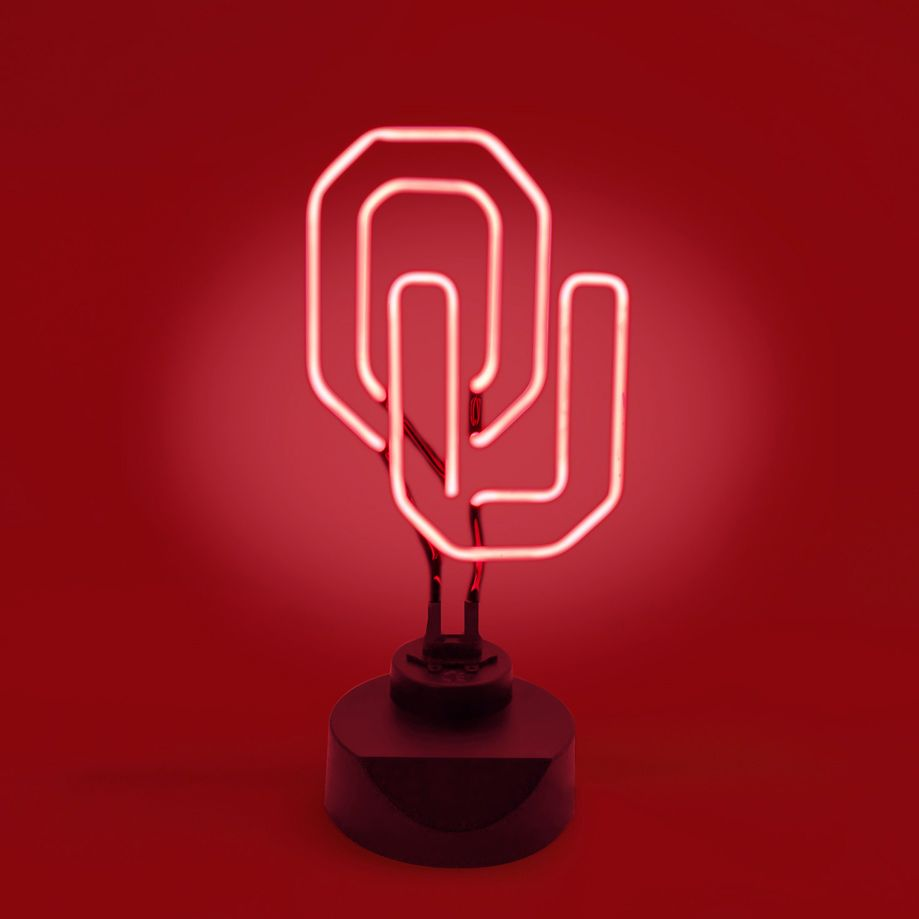 Oklahoma Sooners Neon Light Sign