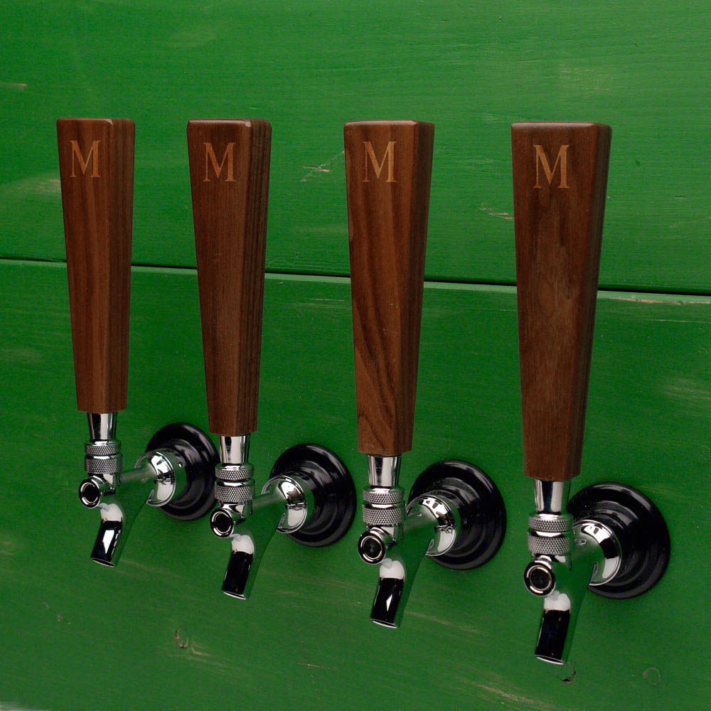 All Natural Walnut Beer Tap Handle