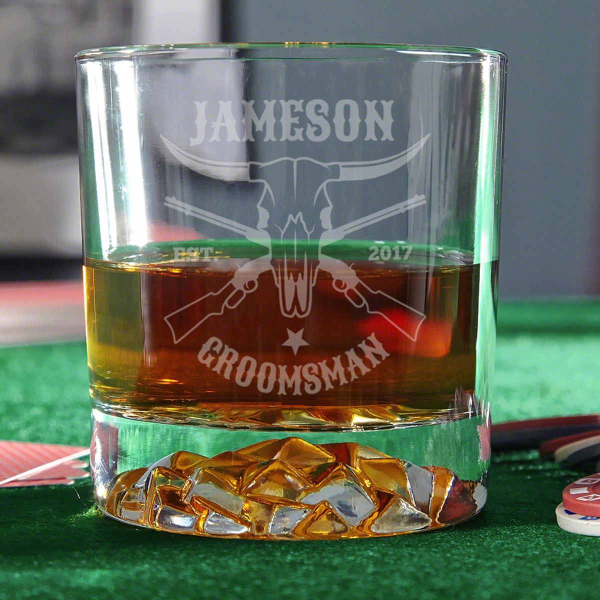 Midland Custom Western Whiskey Glass
