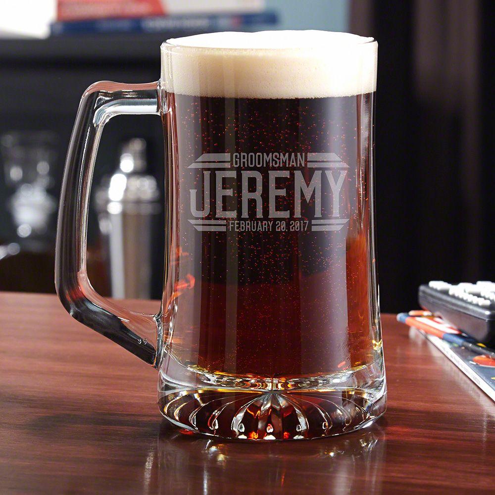 Bradshaw Personalized Beer Mug