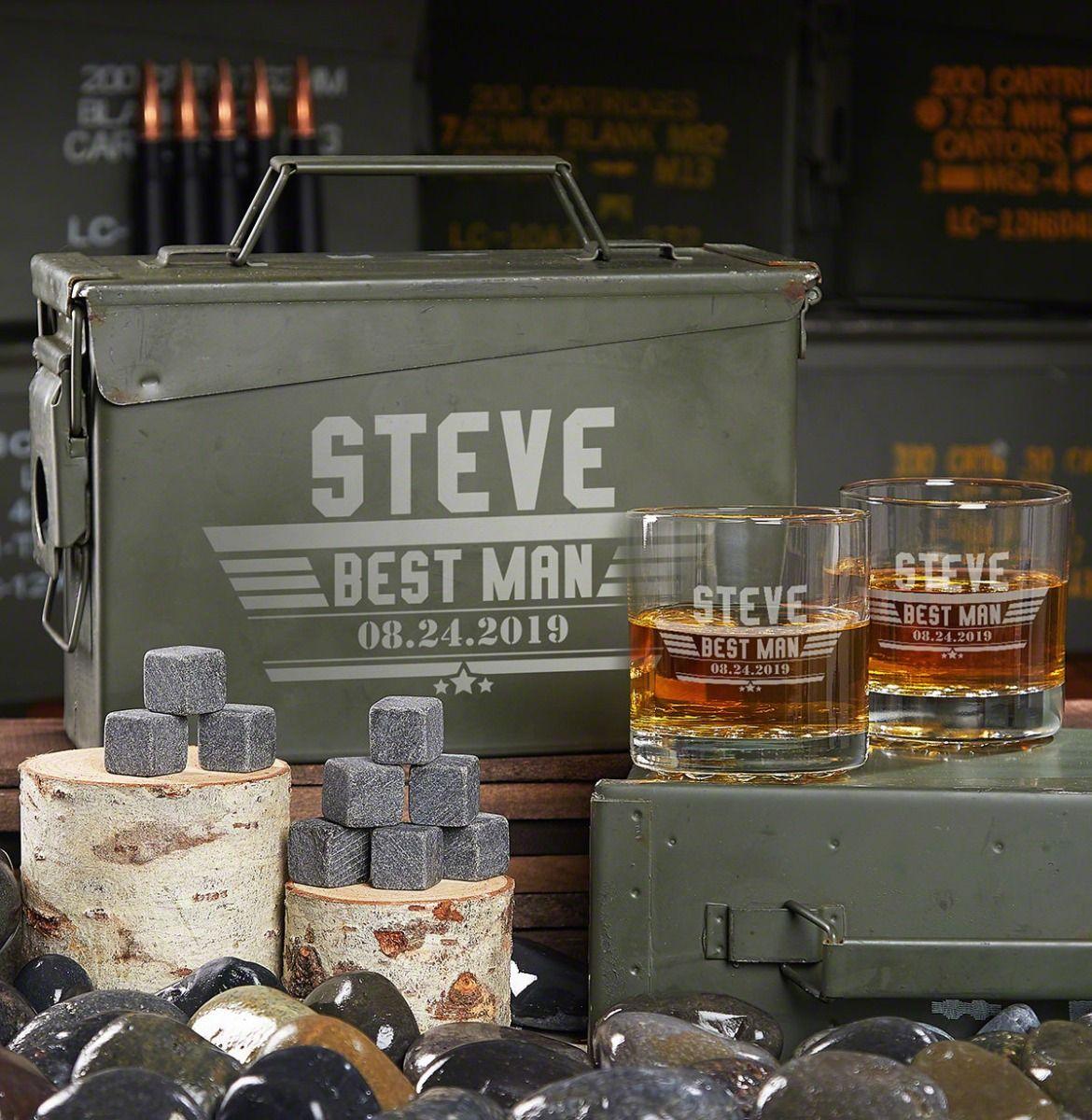 Maverick Custom 30-Caliber Ammo Can Military Promotion Gift Set