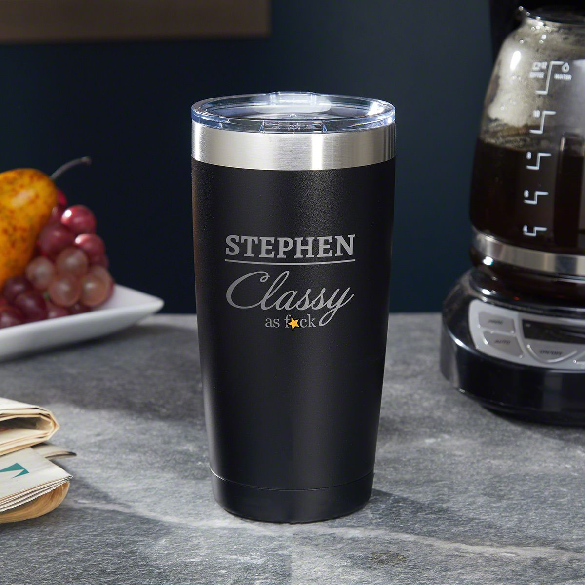 Class Act Personalized Tumbler