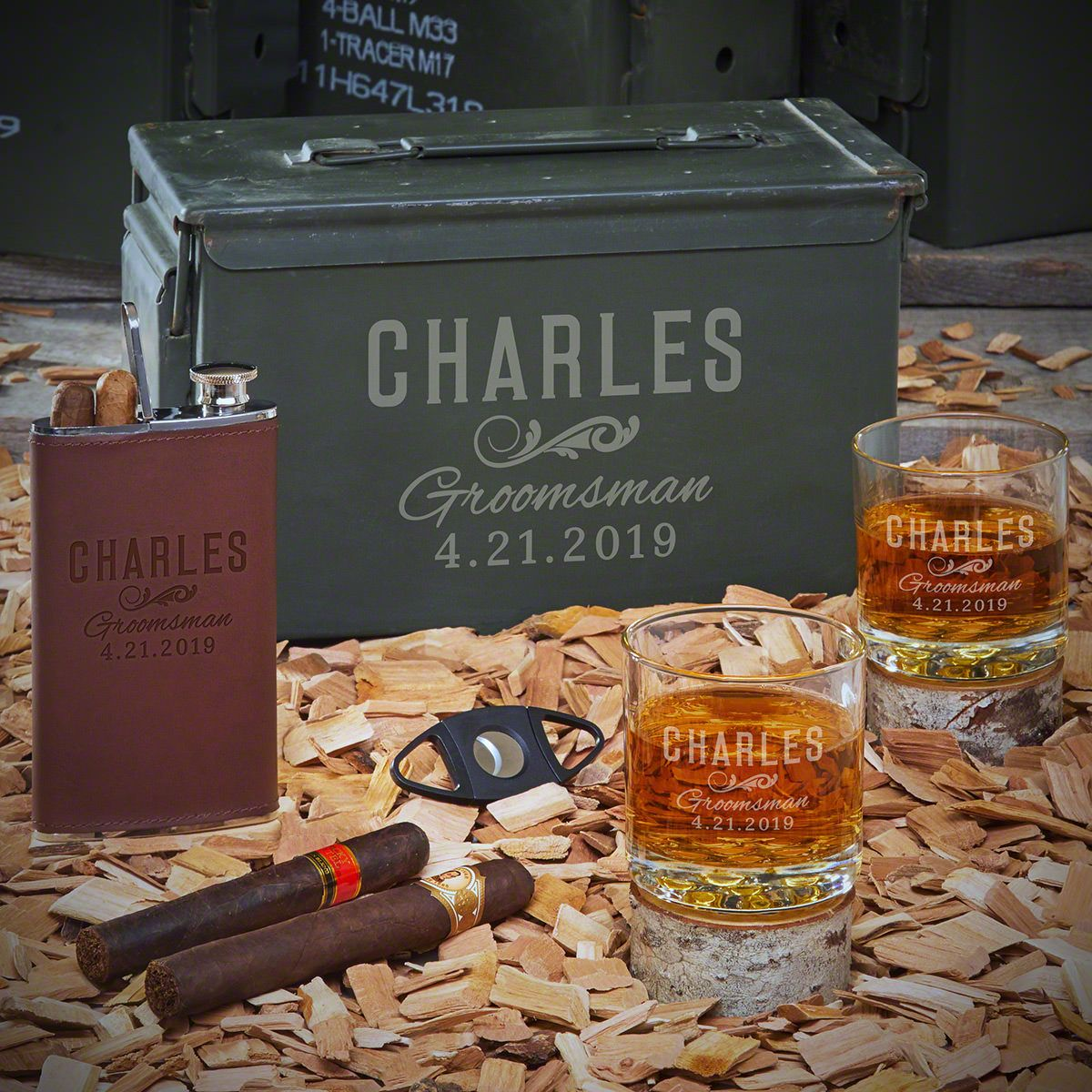 Classic Groomsman Custom Ammo Can – Gift for Groomsmen
