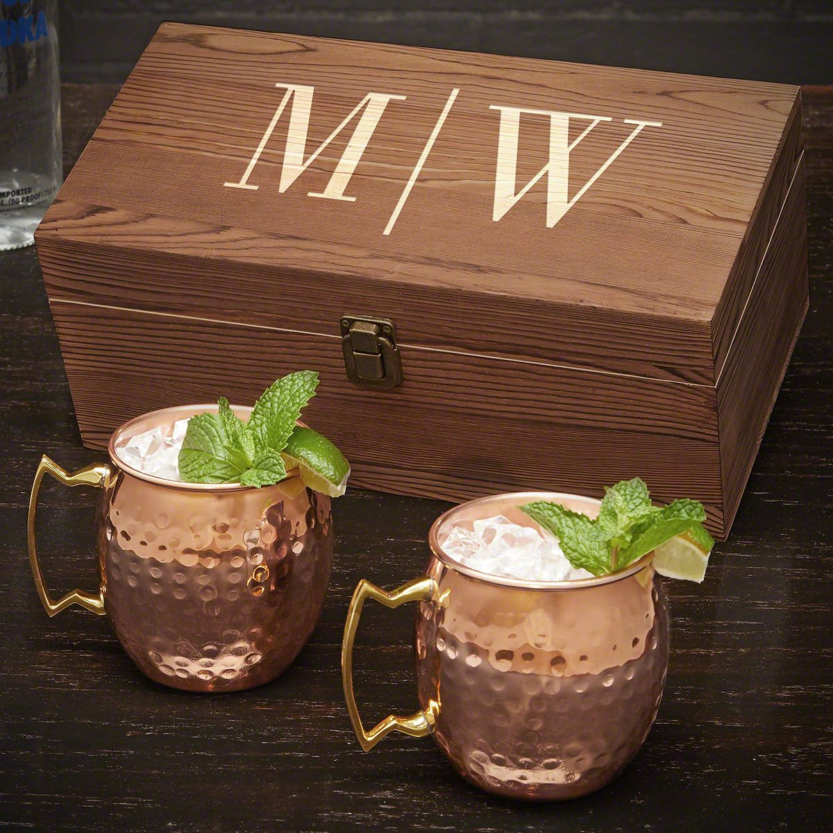 Quinton Personalized Moscow Mule Gift Set