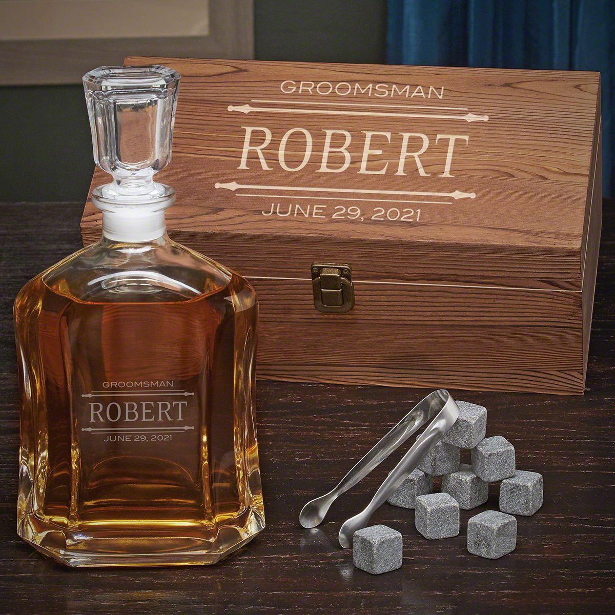 Stanford Personalized Whiskey Argos Decanter Set
