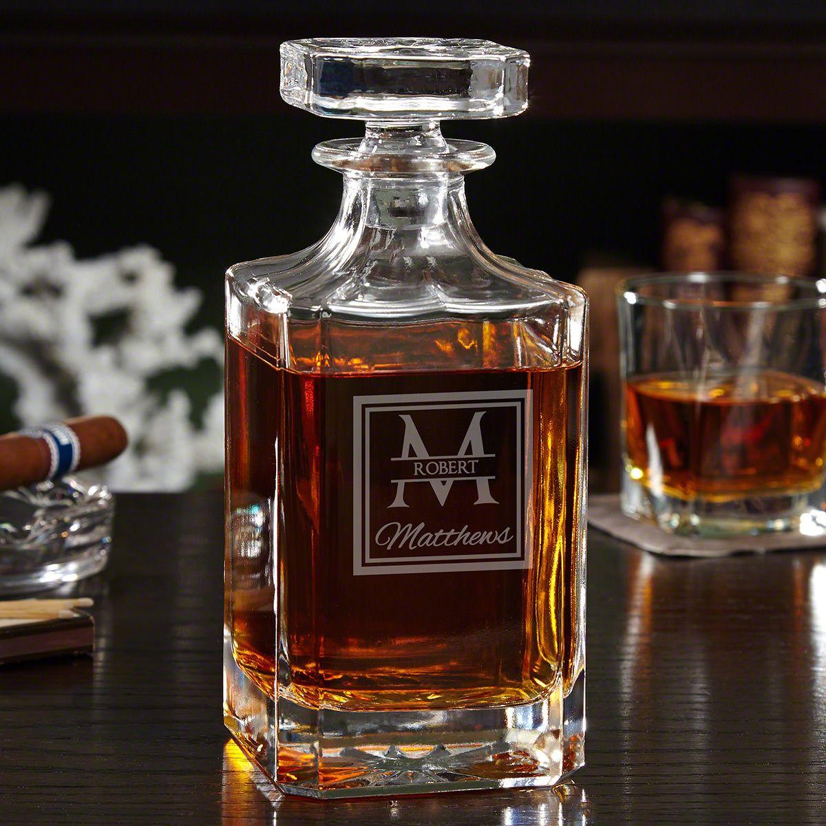 Oakhill Personalized Cognac Decanter
