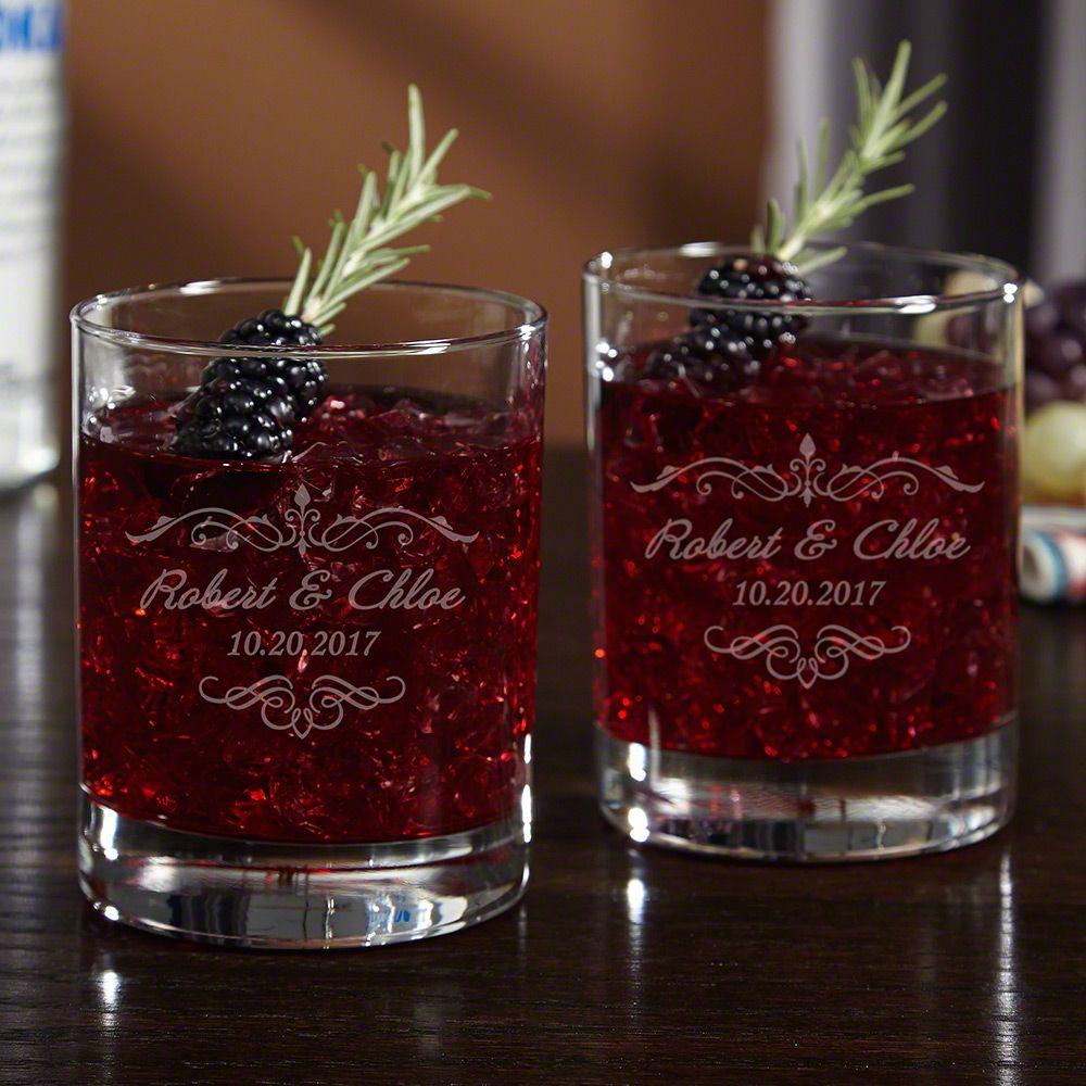 Edgewater Custom Cocktail Glasses, Set of 2