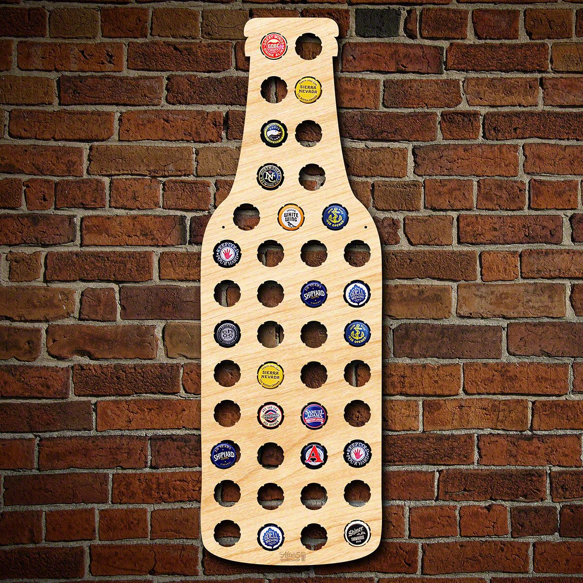 Beer Bottle Beer Cap Map