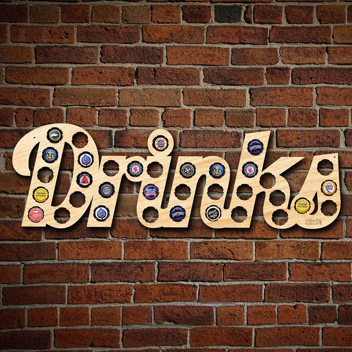 Drinks Beer Cap Map