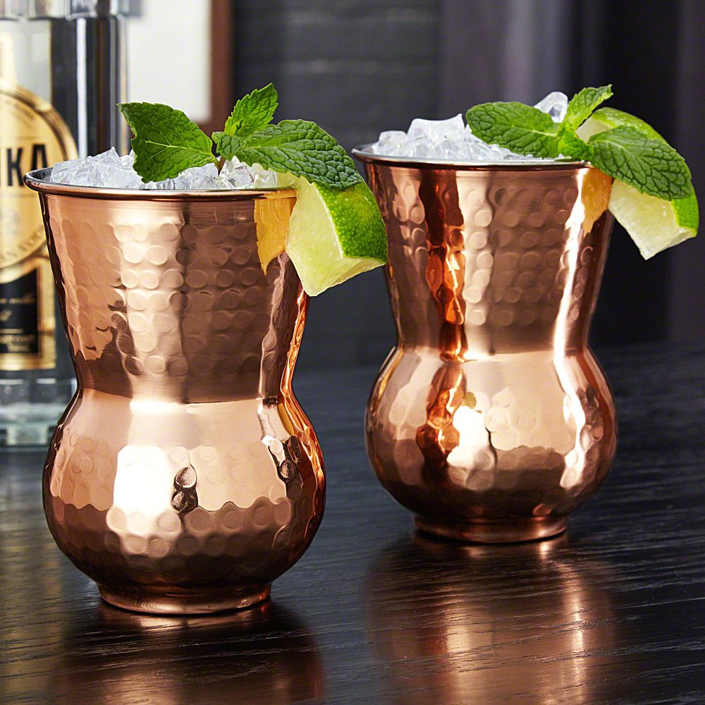 Monroe Moscow Mule Copper Cups, Set of 2