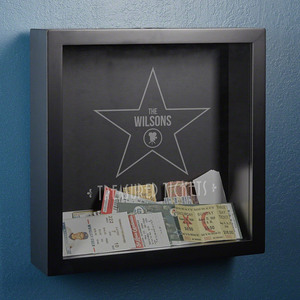 Family Star Personalized Shadow Box Wall Decor